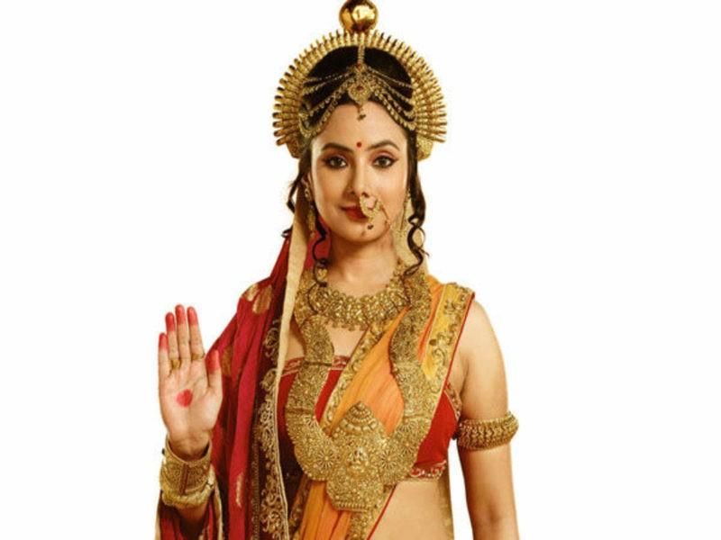 देबलीना चटर्जी ने भी निभाया सीता का रोल